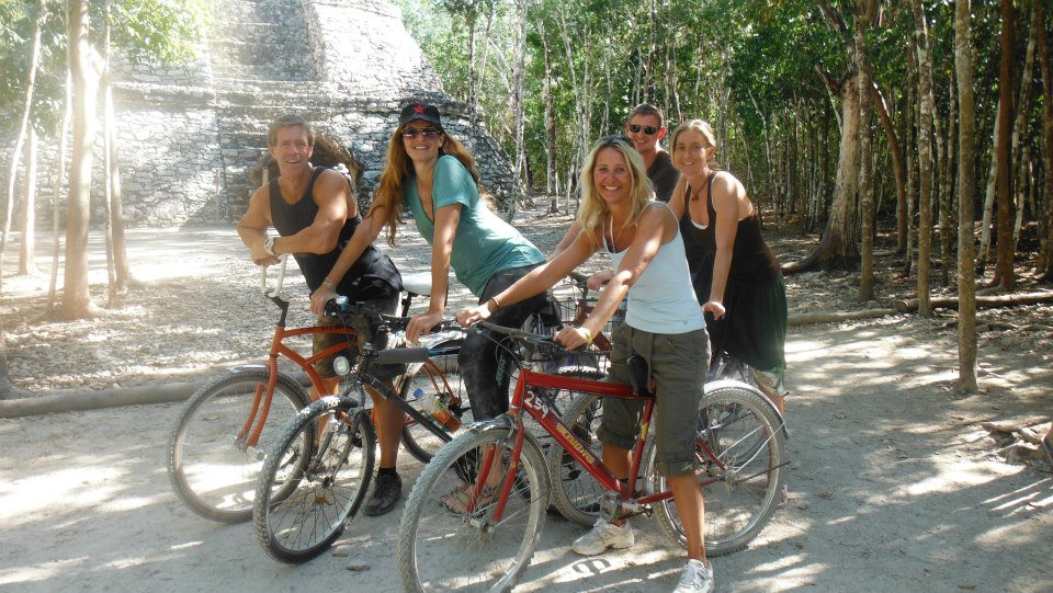 Cenote Bike Tour Playa del carmen
